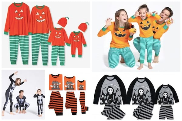 Cheap Matching Halloween Pajamas for the Family