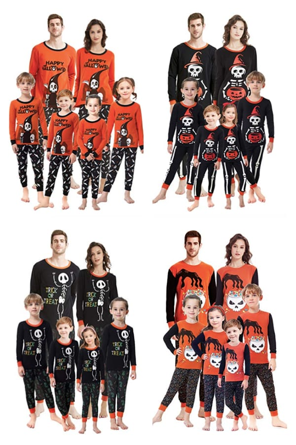 Family Halloween Pyjamas