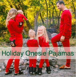 Family Matching Holiday Onesie Pajamas