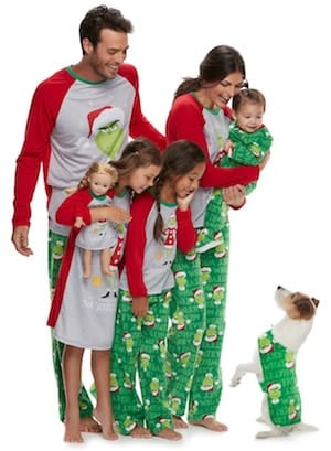 Family Matching How the Grinch Stole Christmas Pajamas