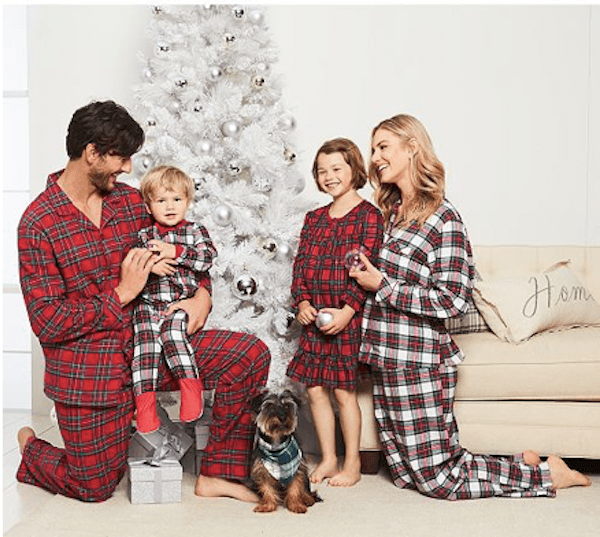 Family Matching Mix and Match Plaid Pajamas