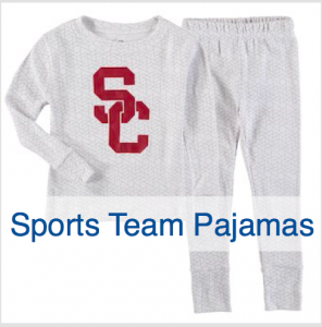 Family Matching Sports Team Christmas Pajamas