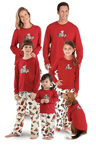 Family Matching Vermont Teddy Bear Christmas Pajamas