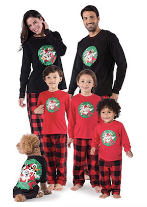 Looney Tunes Fleece Matching Family Christmas Pajamas