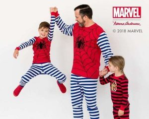 Spiderman Matching Family Pajamas