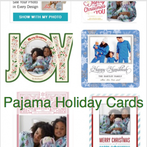 Pajama Holiday Cards