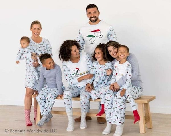 Snoopy Family Matching Pajamas