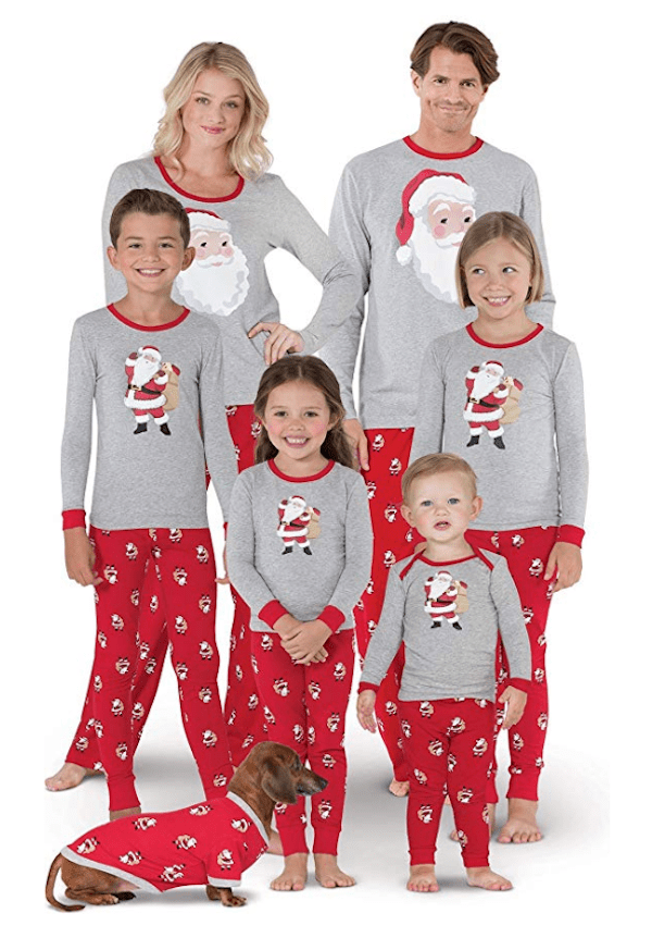Family Matching Saint Nick Pajamas