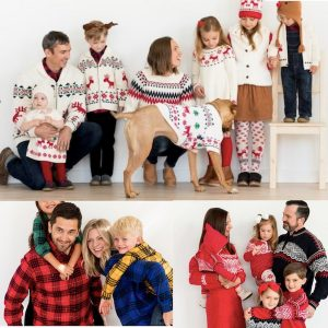 Family Matching Fall & Winter Apparel