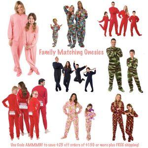 Family Matching Onesies Use Promo Code AMMMBF