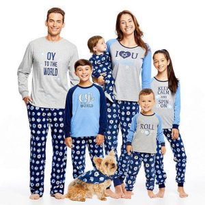 Fun Family Hanukkah Pajamas