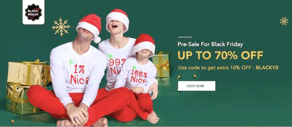 Pre-Black Friday Sale Family Matching Christmas Pajamas