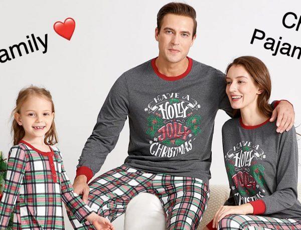 Cheap Family Matching Holiday Pajamas