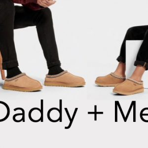 Daddy + Me Matching UGG Slippers