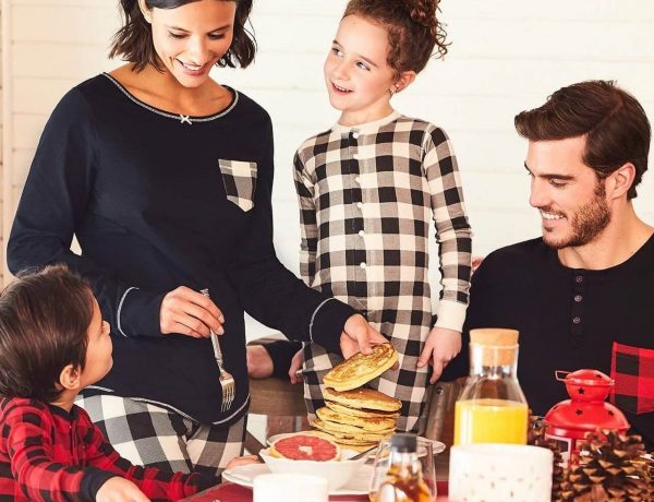 Buffalo Check Family Holiday Pajamas