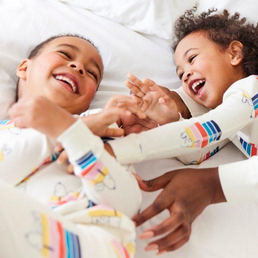 Family Matching Peanuts Rainbow Pajamas