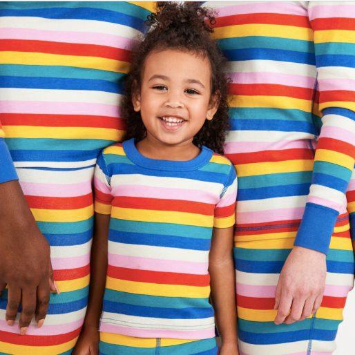Rainbow Matching Family Pajamas
